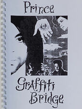 PRINCE Book GRAFFITI BRIDGE Script ring-bound 48 Page