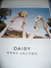 AFFICHE  POSTER  GEANT   MARC JACOBS  DAISY   180x120  TBE  NON  PLIEE