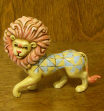 Jim Shore Heartwood Creek Minis #4037662 LION, New From our Retail Store
