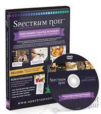 Spectrum Noir Colouring Pencils Intermediate Colouring Techniques DVD