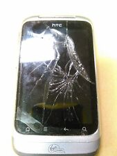 HTC Wildfire S Prepaid Android Phone (Virgin Mobile) FOR PARTS AS IS NO BATTERY