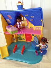 Doc McStuffins 2 Story Get Better Center Clinic Doll House Playhouse