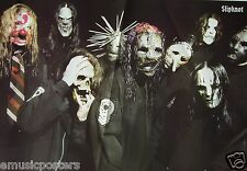 "SLIPKNOT ""MASKED & WEARING  BLACK COATS"" POSTER FROM ASIA - Heavy Metal Music"