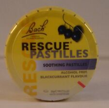 Bach Rescue Remedy Pastilles New Blackcurrant Flavour