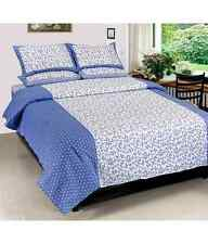 Elegance Cotton Double Bed sheet with 2 pillow cover (Spice-5)