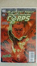 """Blackest Night"" Green Lantern Corps Issue 44 ""First Print"" - 2010"