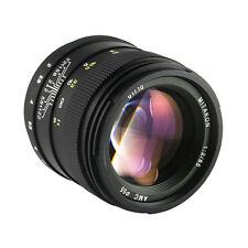 Zhongyi Mitakon F2.0 85mm Silent Frame Prime Lens for Canon EF Mount Camera