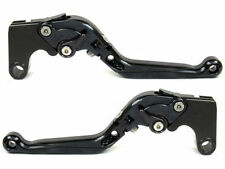 Levier levers flip-up foldable  FULL black KAWASAKI ZX-6/ZZR600 1990-2004