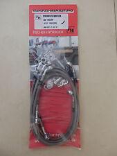 CBR 1000 RR SC57 04-05 STAHLFLEX vorne & hinten &Kuppl. ABE CBR1000RR brake hose