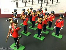 Ltd Britains 00260 Full Set The Band of the Corps of Royal Engineers in 1:32 .