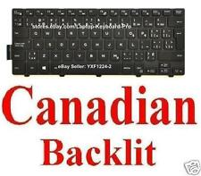 Dell Inspiron 14 3000 series 14-3451 Keyboard - CA Canadian Backlit