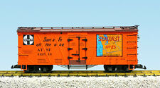 USA Trains G Scale Out Brac Reefer 15022 Santa Fe/Seacoast Apples (#412516)