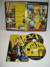 Shin Megami Tensei Persona 4 -- Sony PlayStation 2 PS2 -- CiB NM