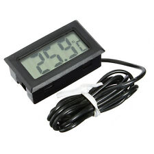 Digital LCD Thermometer For Terrarium Aquarium Marine Water Temperature New