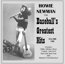 Baseball's Greatest Hits, Volume 1 CD, 5 hilarious baseball songs
