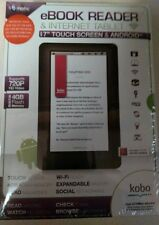 "New EMATIC eBook Reader & Tablet 7"" Touch Screen 720P HD 4GB Wi-Fi Android Kobo"
