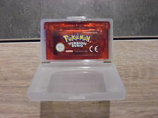 Jeu Nintendo Gameboy Advance : Pokemon Version Rubis