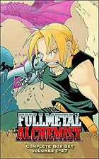 Fullmetal Alchemist Complete English Manga Anime Book Volumes 1-27 Boxed Set NEW