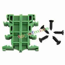 PCB Din Rail Adapteur Circuit Board Mounting Bracket Support Transporteur 35mm