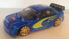 SUBARU IMPREZA Rally Champion stile Radio Remote Control Car in Scala 1:10