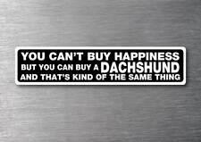 Buy A Dachshund sticker 7 yr water & fade proof vinyl sticker car pet dog