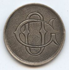 Love Token Canadian 5C Silver (#6730) Carefully Check out the Photos.