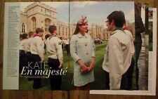 Article Kate et William,Anmer Hall plan , photos ,2013,clipping