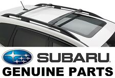 2014-2017 Subaru Forester OEM Aero Cross Bars Roof Rack - E361SSG000