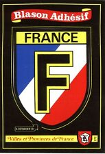 carte Kroma écusson France adhésif pour camping car, collection blason sticker