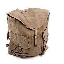 Genuine 50s Canvas Khaki Large Rucksack Backpack Kitbag Bushcraft Supergrade
