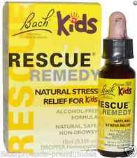 NEW BACH ORIGINAL FLOWER REMEDIES RESCUE REMEDY STRESS RELIEF FOR KIDS NATURAL
