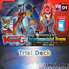 G-TD01: Awakening of the Interdimensional Dragon-Cardfight Vanguard G Trial Deck