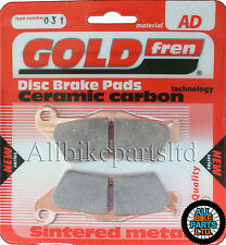 SINTERED REAR BRAKE PADS for: BMW R 1150 GS ADVENTURE (2001-2007) R1150GS R1150