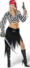 Cabin Girl Cutie Sexy Ladies Pirate Adult Costume XS 2-4