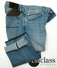 BOSS SELECTION Jeans NEW JERSEY 32/34 in light blue SOFT STRETCH