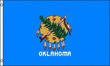 State of Oklahoma Flag 3x5 ft with Metal Grommets Sooners Cowboys OK City Tulsa