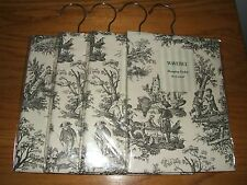 Waverly Garden Room Wellington Black French Country Toile Hanging Sachet (New)