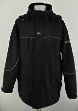 HELLY HANSEN Men`s Helly-Tech Work Wear Protected Waterproof Padded Jacket XL