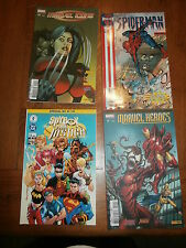 marvel icons 41 spider man 22 marvel heroes 11 spyboy young justice 18 strangers