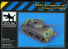 Blackdog Models 1/72 U.S. M4A1 SHERMAN TANK Resin Detail Set