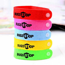 New Sale Mosquito Mozzie Pest Insect Bugs Repellent Repeller Wrist Band Bracelet