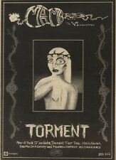 26/11/83PN20 ADVERT: MARC & THE MAMBAS TORMENT 4 TRACK SINGLE 7X5