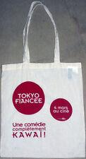 Tote Bag - sac collector du film Tokyo Fiancée Coton écru