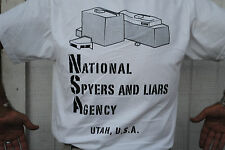 NSA T-Shirt Brand New Just Printed Hot Off The Press (SIZE MEDIUM)