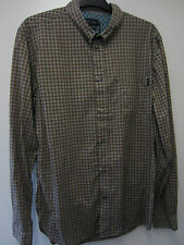 Paul Smith Check Shirt with Mother of Pearl Buttons Size XL Pit to Pit 24""