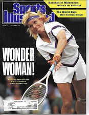 SPORTS ILLUSTRATED -FEATURES MARTINA NAVRATILOVA FROM JULY 16, 1990