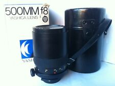 Very Rare Yashica 500mm/800mm TELEPHOTO Mirror Lens Contax C/Y Digital Camera