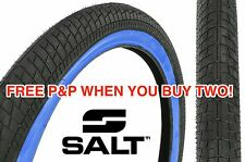 A SALT PITCH FLOW 20 x 2.2 TYRE BMX SNAKE BELLY STREET BLUE WALL HUGE SAVING