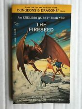 Dungeons & Dragons Book 30 The Fireseed VF-NM or Better RARE RPG Role Play Quest