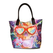 IRON FIST PARTY SKULL TOTE LADIES HANDBAG / SHOPPER / SHOULDER BAG NEW (L1C)